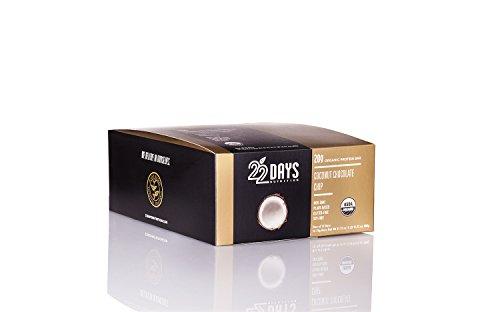 22 Days Nutrition Organic Protein Bars Gluten Free Coconut Chocolate Chip 20G Protein Bar-- 12 Bars