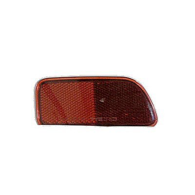 PASSENGER SIDE REAR REFLECTOR Chevrolet Trailblazer BUMPER; EXCEPT SS MODELS; RH [FITS IN BUMPER] (Trailblazer Ss Rear Bumper compare prices)