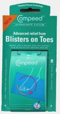 Compeed Blisters on Toes 8