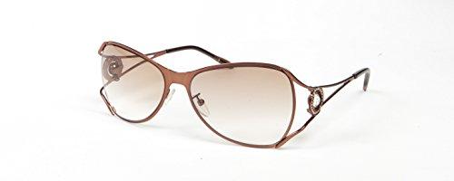 boucheron-damen-sonnenbrille-braun-silber