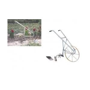 High Wheel Cultivator - Multi-Use Gardening Tool (Silver) (42
