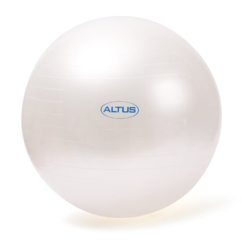 Altus Athletic 65cm 600 Pound Body Ball With Dvd Pearl