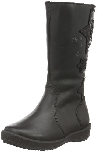 Garvalin161800A-FB - Stivali e stivoletti alti imbottiti caldi Bambina , Nero (Nero (Negro)), 29 EU