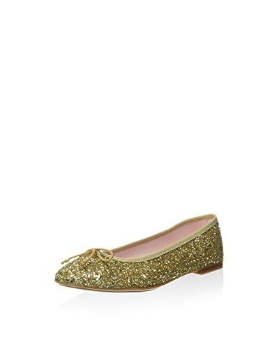 Bisue Ballerina goldfarben/silberfarben EU 36