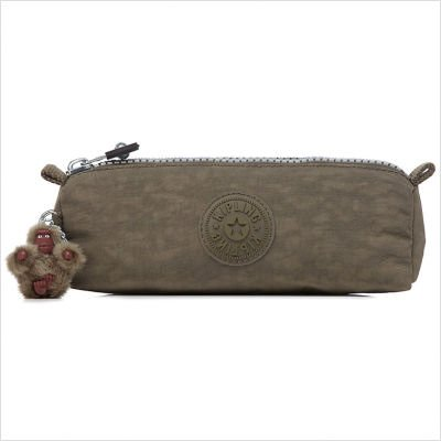 Kipling Freedom Pen Case / Cosmetic Bag - Ginko Leaf