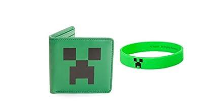 Minecraft Wallet & Minecraft Bracelet from Minecra