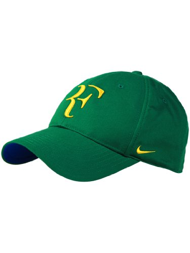 40784ec6 Green-Yellow NIKE Men-Women's Cap Roger FEDERER
