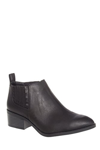 Stand Up Straight Low Heel Bootie