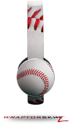 Baseball Decal Style Skin (Fits Sol Republic Tracks Headphones - Headphones Not Included)