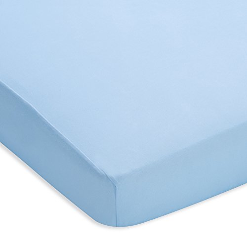 BreathableBaby Plush Sheet, Blue