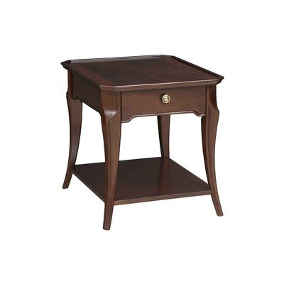 Cheap Ferron Court End Table in Dark Brunette (4595-002)