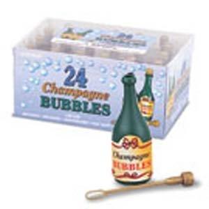 Country Baskets Décoration d'extérieur en forme de bouteille de Champagne à bulles-Lot de 24