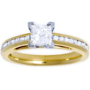 Pre Set Engagement Rings Cheap