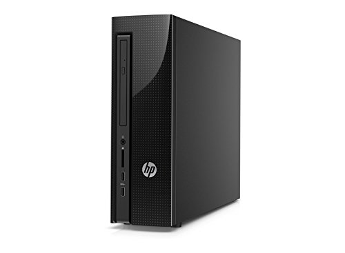 HP Pavilion Slimeline 450 Desktop, Pentium Quad Core Processor 2.41 GHz, 4 GB DDR3, 1 TB HDD, DVI, WiFi, Windows 8.1/10 (Certified Refurbished)