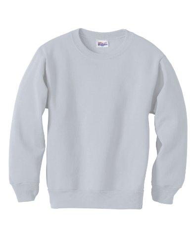 цены Hanes ComfortBlend Youth Crewneck Sweatshirt 7.8 oz, L-Ash