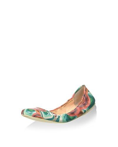 Desigual Shoes_Bailarina We, 3036 Rojo Clavel, 36 3036