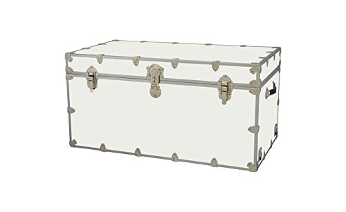 Toy Trunk - White (Extra large: 36 W x 18 D x 18 H (36 lbs.))