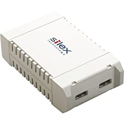 Silex SX-3000GB Device Server 2 x USB, 1 x RJ-45 10/100/1000Base-T Network