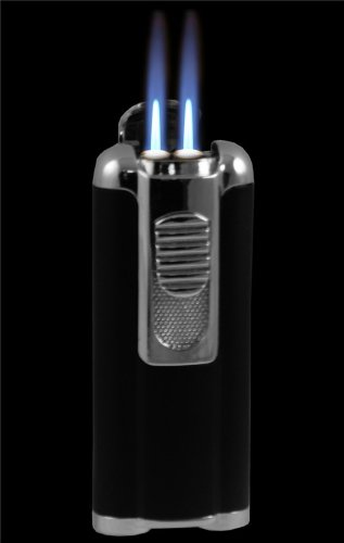 Aficionado Cigar Lighter With Retractable Hole Punch #8
