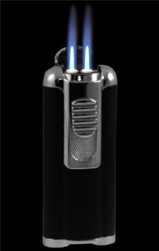 Aficionado Cigar Lighter With Retractable Hole Punch #8