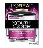 L'Oreal Paris Youth Code Regenerating Skincare Day/Night Cream, 1.6-Fluid Ounce
