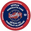 Timothy's German Chocolate Cake Flavored Coffee * 1 Box of 24 K-Cups *