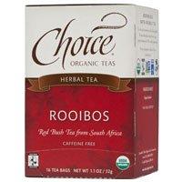 Choice Organic Teas Rooibos Red Bush Tea, 16 BAGS (Pack of 3)
