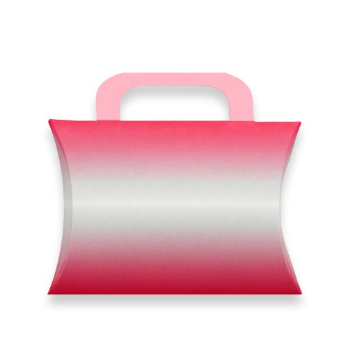 Berwick Ombre Pillow Box Gift Card Holder, Pink, 4