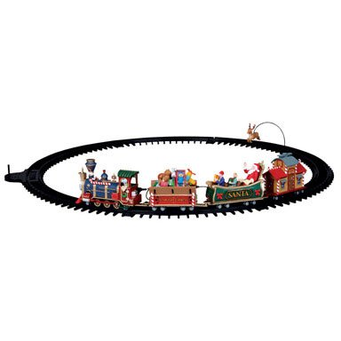 lemax christmas village train set