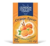 THREE PACKS of London Fruit & Herb - Fruit Infusion Orange Spicer 20 Bags