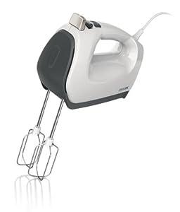Philips HR1572/51 Handmixer (Stabmixeraufsatz, 5 Stufen, 550 Watt) weiß/grau
