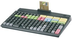 Prehkeytec - Mci128 Programmable Keyboard (Compact - 128-Key - Row & Column - Usb Cable - And No Msr) - Color: Black [90328-606-1800]