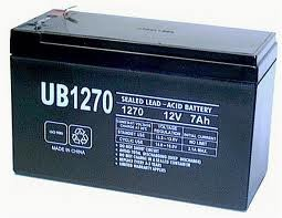AMOF 12 Volt Rechargeable Battery for Power Wheels - 180 Day Warranty