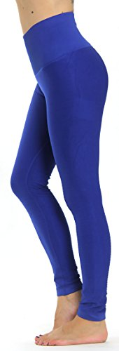 Prolific Health High Compression Women Pants Yoga Fitness Leggings (Small/Medium, Royal Blue)