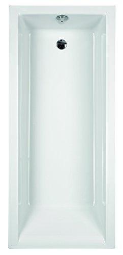 Acryl-Badewanne Nilo | 170 x 75 cm | Weiß | Wanne | Badewanne | Bad | Badezimmer | Acryl | Komfort