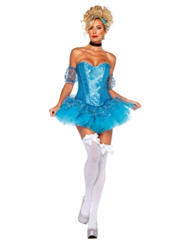 Adult-Costume Cinderella Md Adult Costume 8-10 Halloween Costume