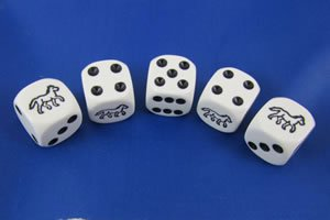 Horse Racing Dice Game - 1