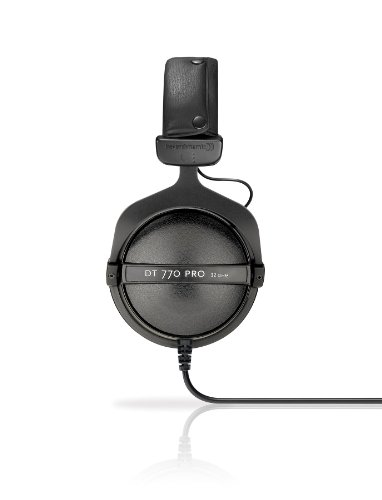 Beyerdynamic DT-770-PRO-32 Closed Dynamic Headphone for Mobile Control and Monitoring Applications, 32 Ohms