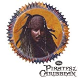 Wilton Baking Cups - Disney Pirates of The Caribbean Jack Sparrow - Package of 50 - We Ship Within 1 Business Day w/ *FREE Standard Shipping!