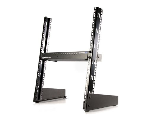 Startech.Com 12U 19-Inch Desktop Open Frame 2 Post Rack Rk12Od (Black)