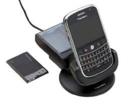 BlackBerry RIM Power Station with Extra Battery Charger for BlackBerry Bold 9000 (OEM)