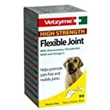 Vetzyme High Strength Flexible Joint Tablets (3 Packs x 90 tablets each)