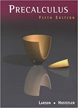 precalculus with limits fifth edition pdf