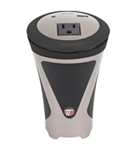 Targus APV11US 100 Watt Auto Power Inverter Cupholder Style-Grey and Black (Discontinued by Manufacturer)