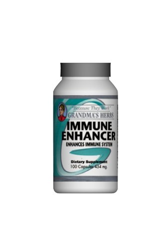 Immune Enhancement - 100% Natural Herbal Formula - Promotes Healthy Immune Function