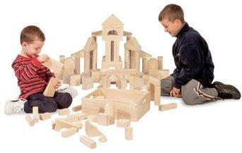 Kids Standard Wood Building Blocks
