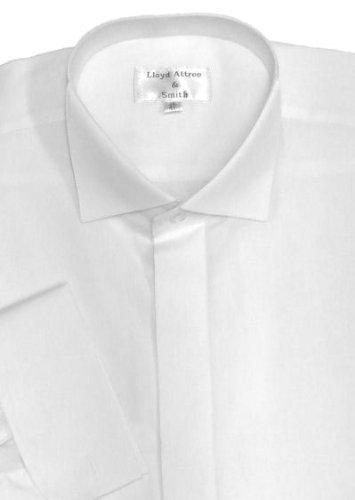 Victorian Wing Collar Dress Shirt White