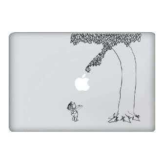 MacBook 対応 アートステッカー☆ - Giving Tree - (13インチ用) 【並行輸入品】