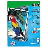 InkHighCol.spéc.A4 90g/mÄ  VE=75 feuilles Sigel IP188