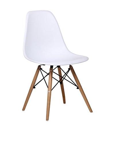 Lo+deModa Set Silla 2 Unidades Wooden